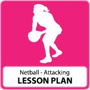 Netball Lesson Plan – Attacking Skills