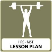 Health Related Exercise – MST